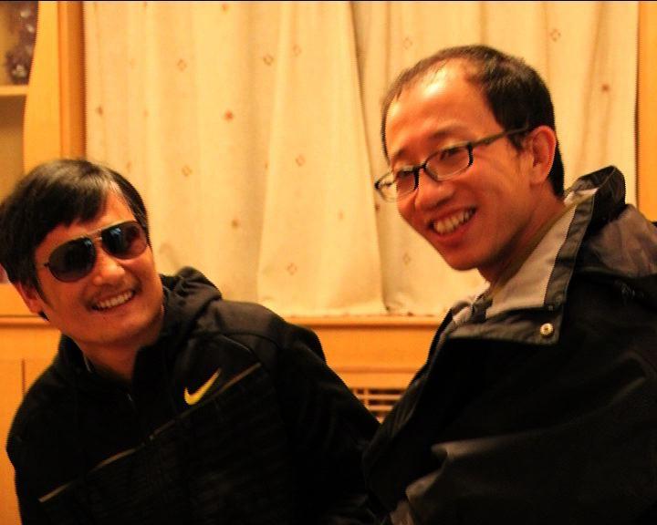 胡佳:陳光誠並非尋求政治庇護
