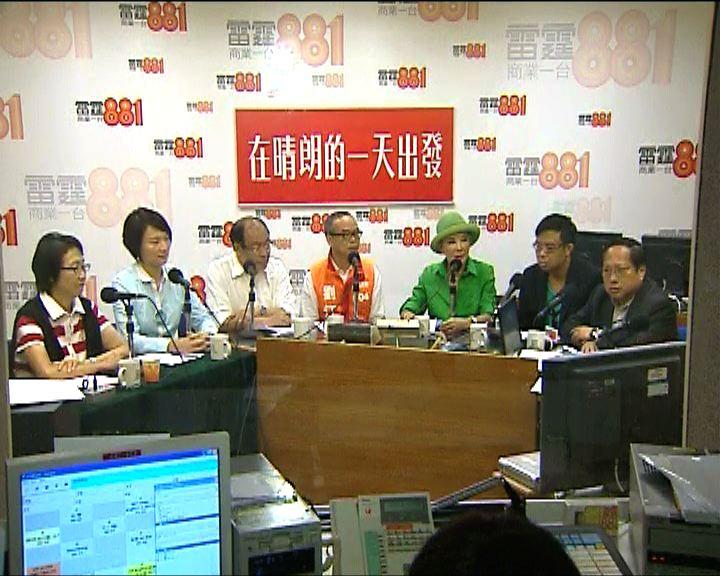 超級區議會建制派與陳茂波劃清界線