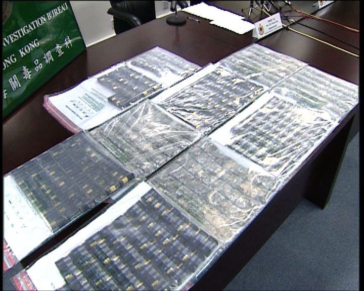 海關機場偵破毒品案拘一對男女