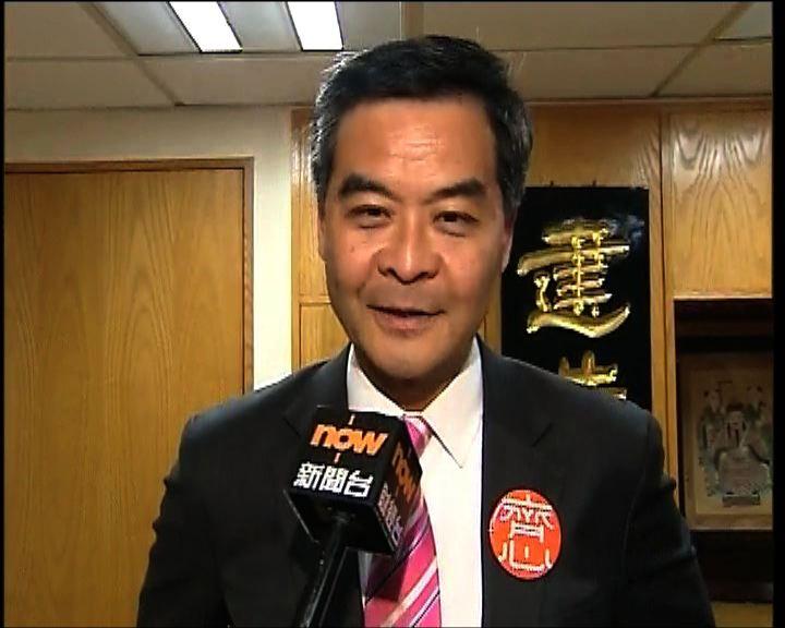 梁振英否認西九設計比賽涉利益衝突