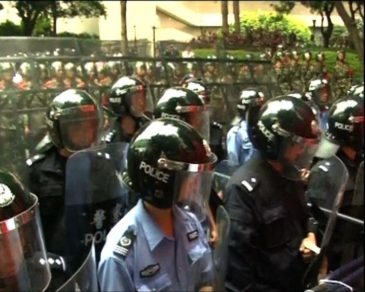 廣州反日示威者獲准會見日領事館人員