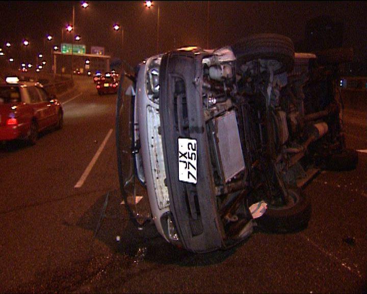 將軍澳交通意外司機涉醉駕被捕