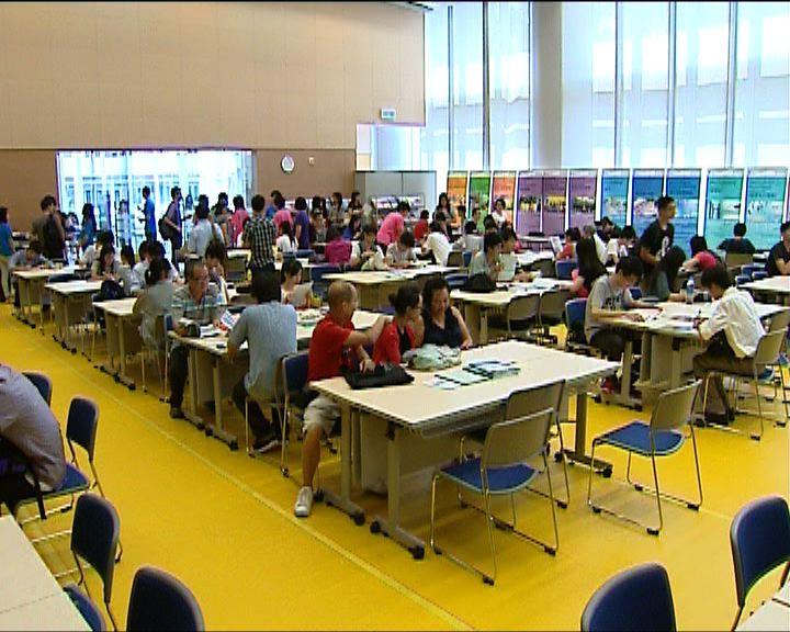 文憑試考生報讀多個副學位課程