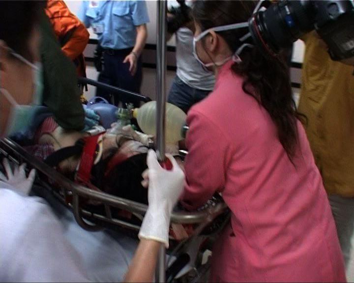 女子行山被石頭擊中昏迷送院