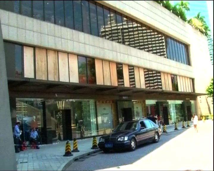 廣州花園酒店損毀嚴重餐廳停業