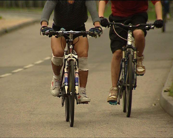 踏單車受傷假日比平日多三倍