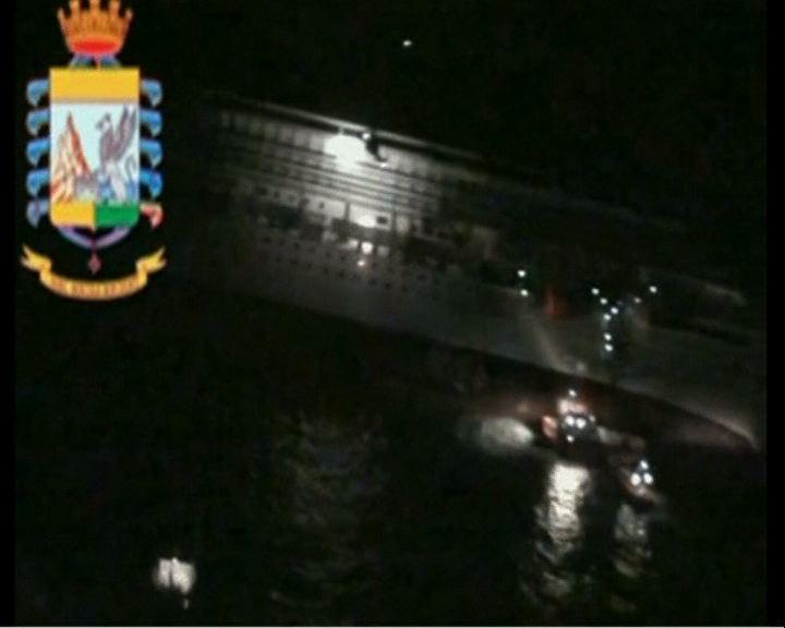 郵輪意大利西部擱淺至少3死