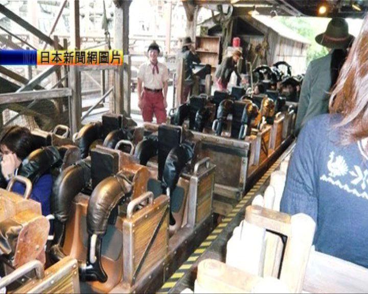 東京迪士尼過山車意外男子輕傷