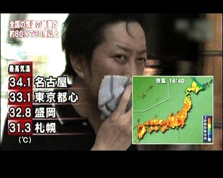 日本高溫釀6死2400人送院