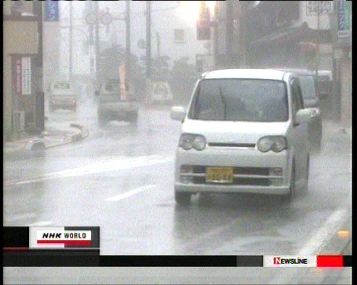 預料颱風最快今晚登陸東京