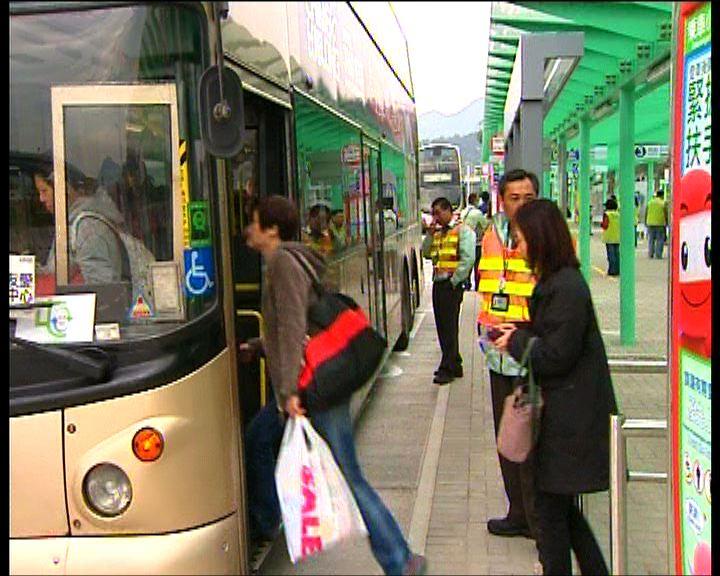 乘客指小欖九巴轉乘站方便到市區