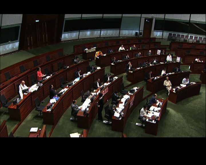 立法會通宵審議議席出缺草案