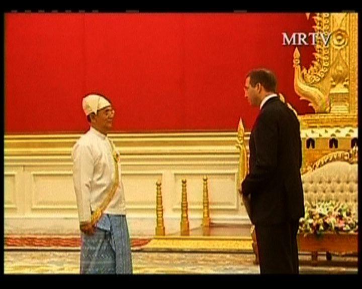 美國廿二年首位駐緬甸大使正式上任