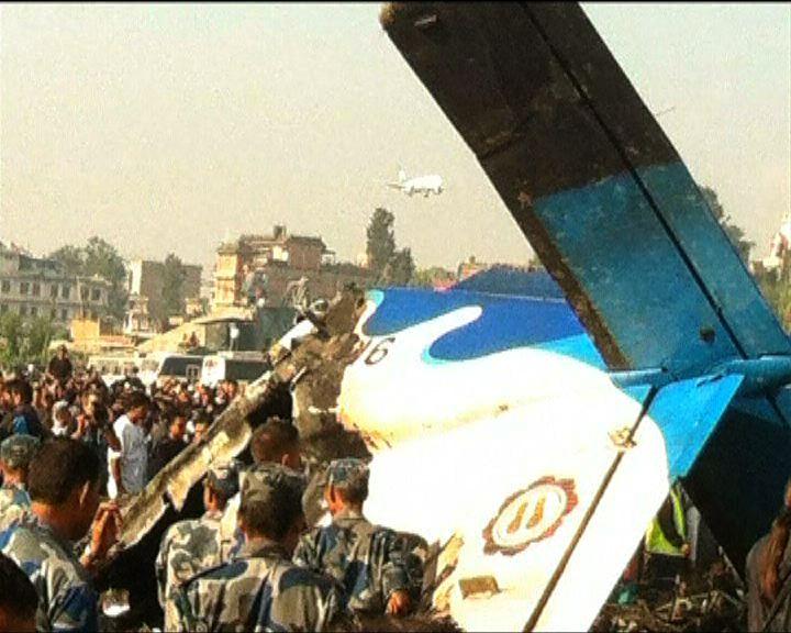 尼泊爾墜機19死包括5中國人