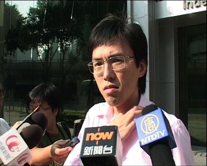 社民連吳文遠向胡錦濤抗議被捕