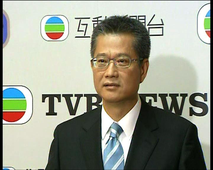 陳茂波:不撤回發展區計劃
