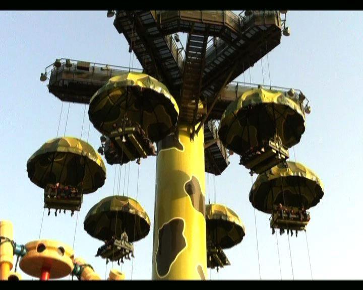 海洋公園迪士尼先後有機動遊戲發生故障