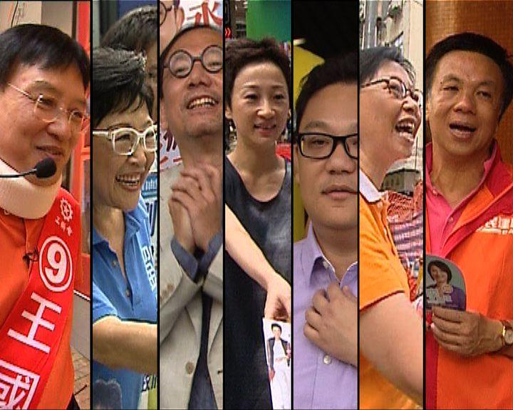 政情:香港島將有現任議員議席不保