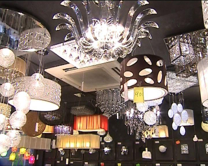 燈飾店多用LED燈膽節能