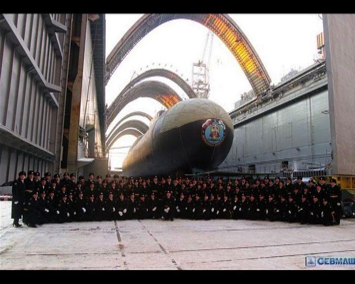 俄羅斯大舉發展核潛艇抗衡美國