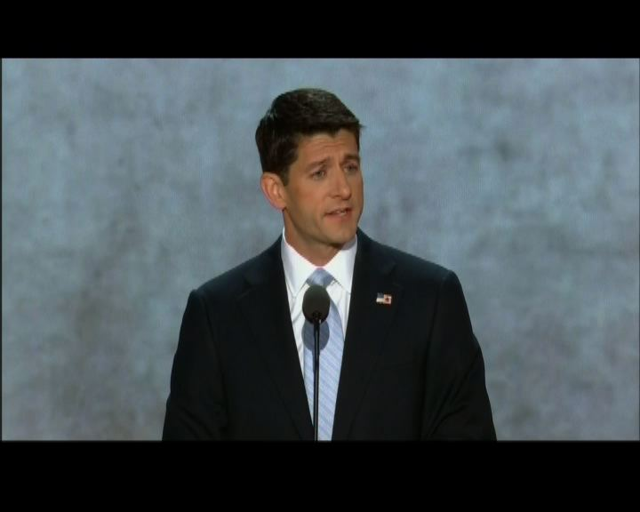 共和黨副總統候選人承諾解決經濟問題