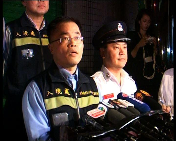 警方拘捕多名內地水貨客