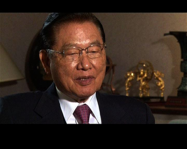 江丙坤:兩岸協商唯有國民黨