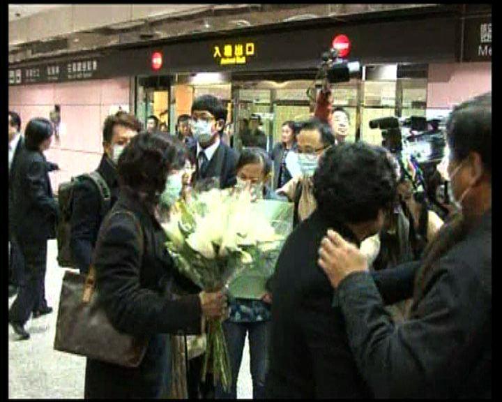 日本遇害兩女生骨灰返台