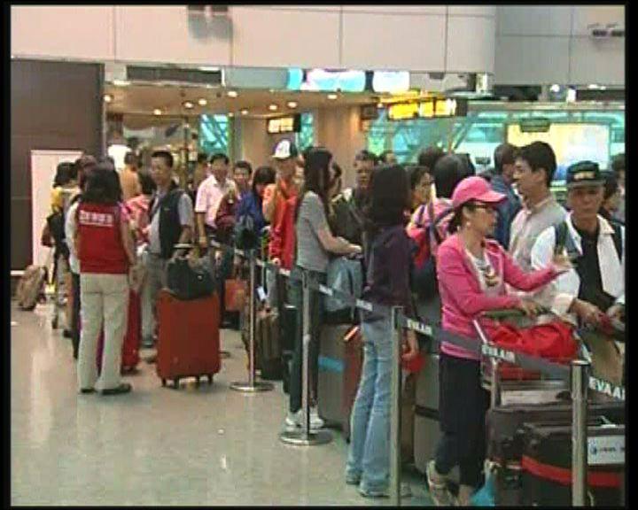 台灣料赴美民眾數目大增