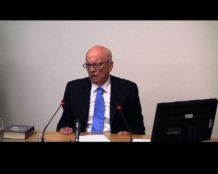 梅鐸否認干預英國首相決策