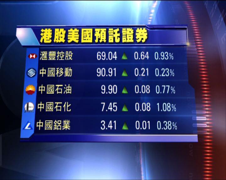 預託證券形式買賣港股造價普遍高