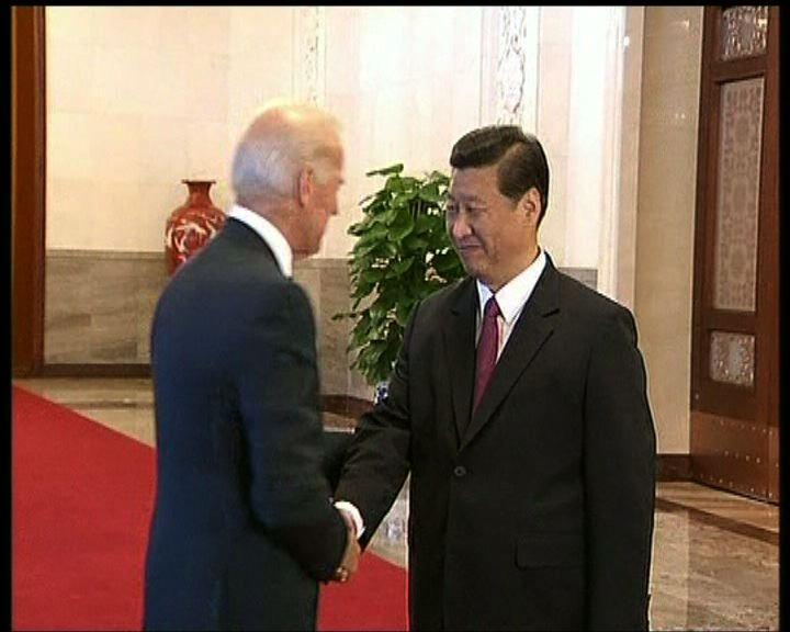 拜登呼籲中國改善人權
