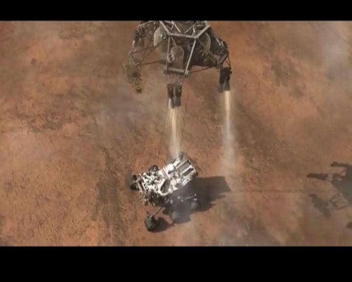 火星探測器好奇號即將降落