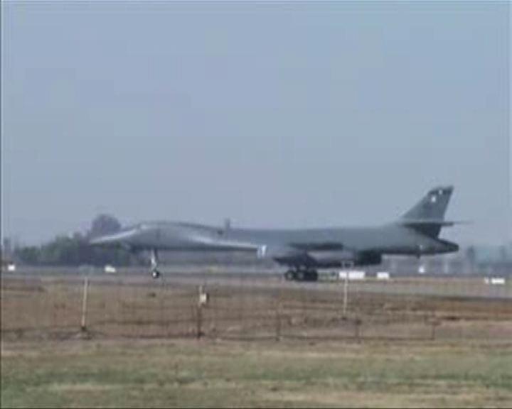 美軍重返亞太部署B1轟炸機