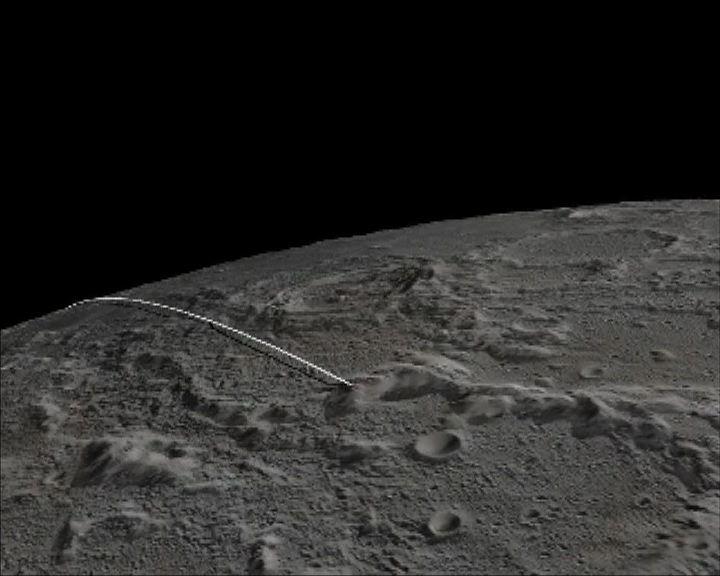 重力探測器完成任務撞向月球