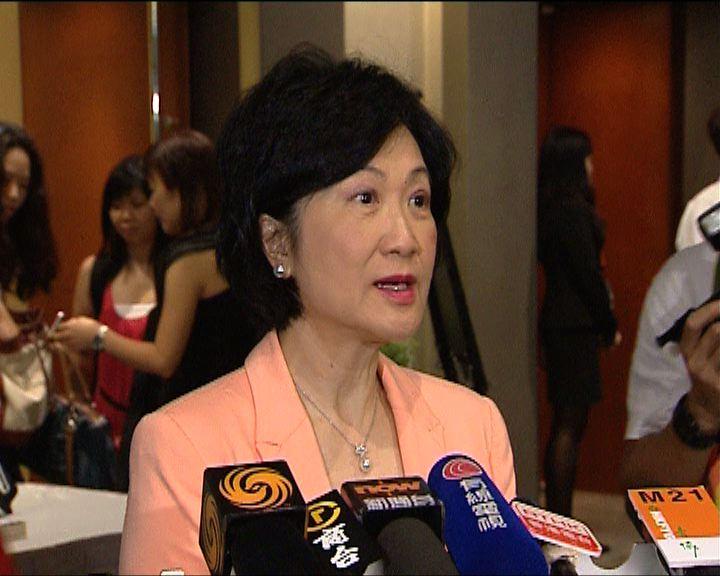 葉劉淑儀:和王光亞是老朋友