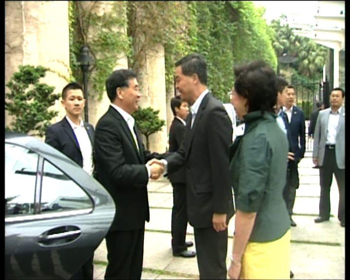 汪洋期望新政府推進粵港合作