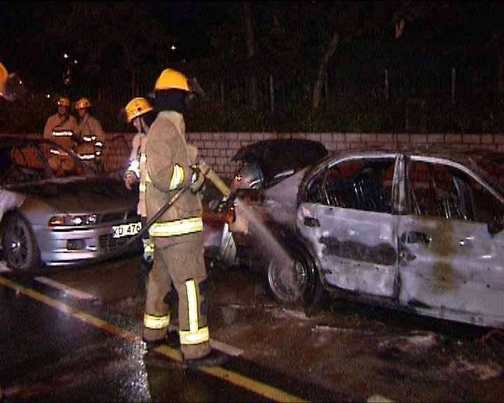 粉嶺及上水發生傷人及燒車案