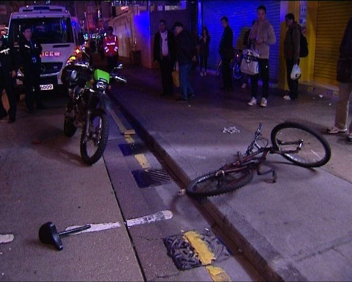 油麻地男子截停竊賊時遇襲受傷