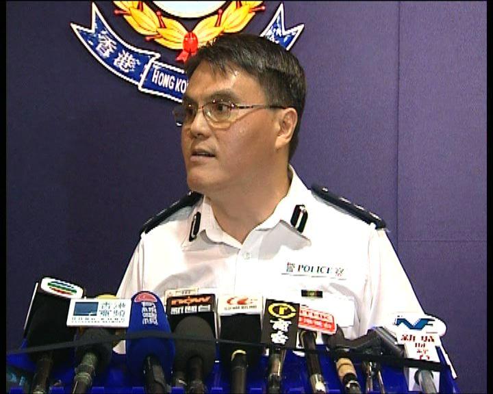 警方:沒有阻撓主辦單位點算人數
