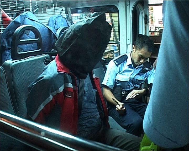 油麻地男子涉爆竊被警方拘捕