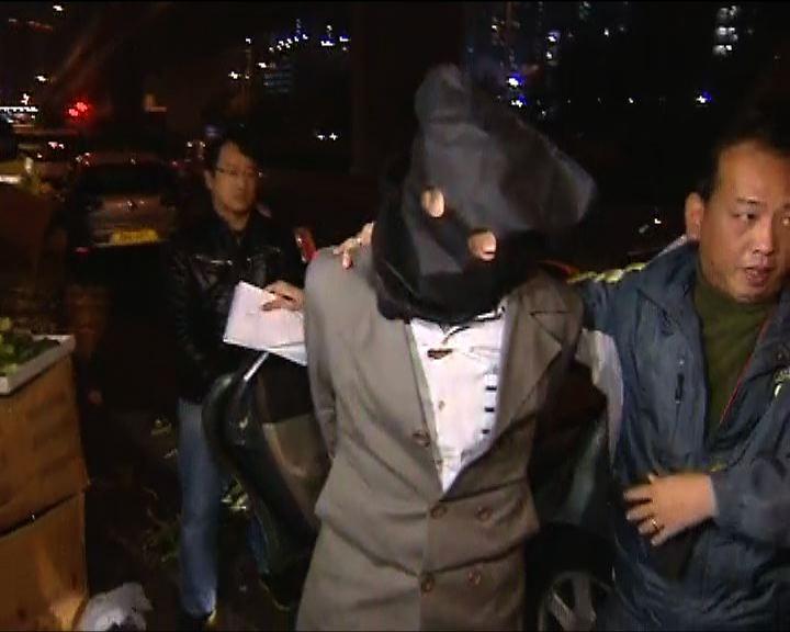 警方北角拘一漢涉四宗行劫案