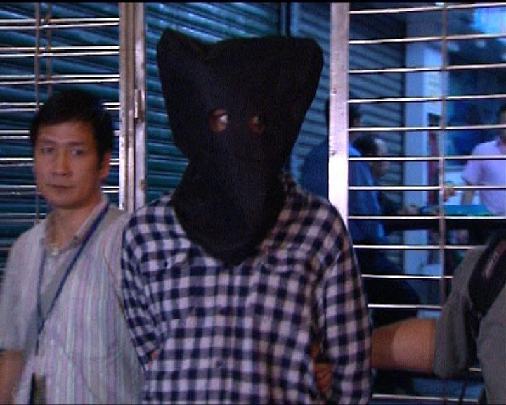 警方尖沙咀拘南亞漢涉爆竊販毒