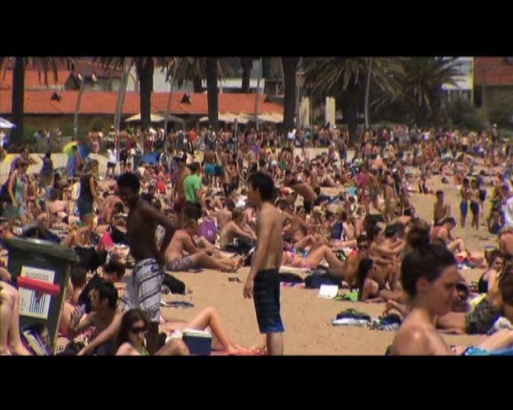 澳洲受熱浪侵襲多處氣溫達40度