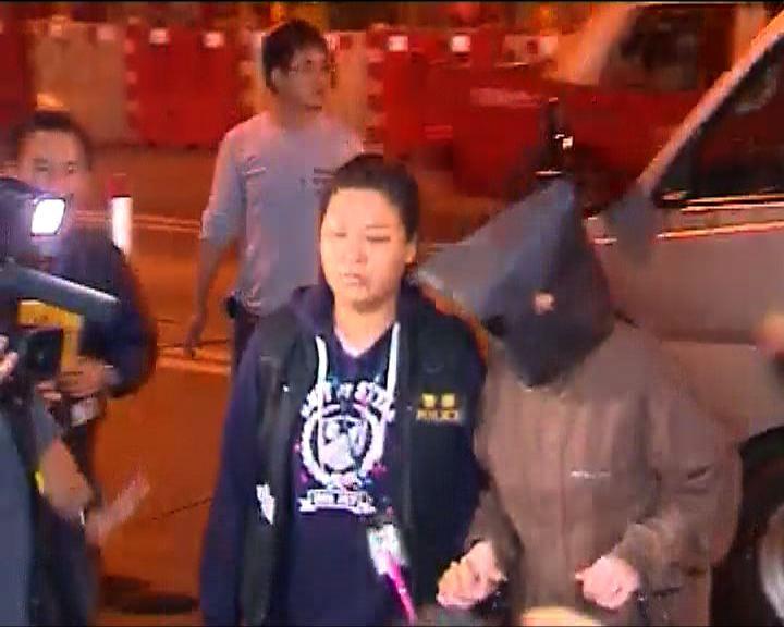 警方押女嬰母親回寓所搜證