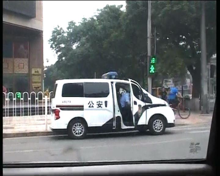 六四廿四周年北京多處加強保安