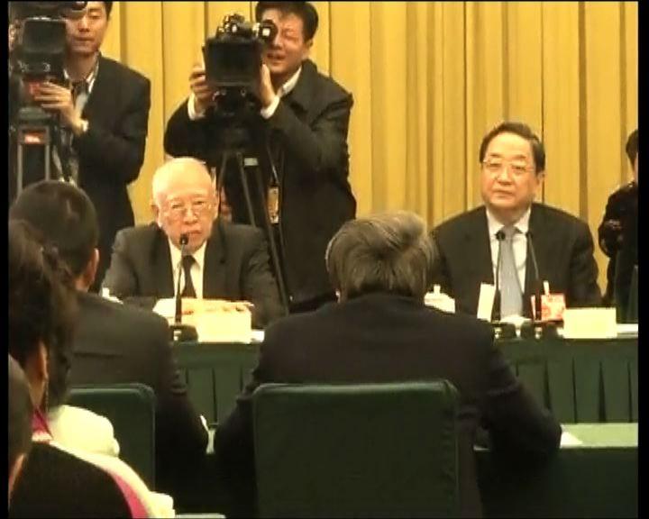 俞正聲聽取香港政協意見