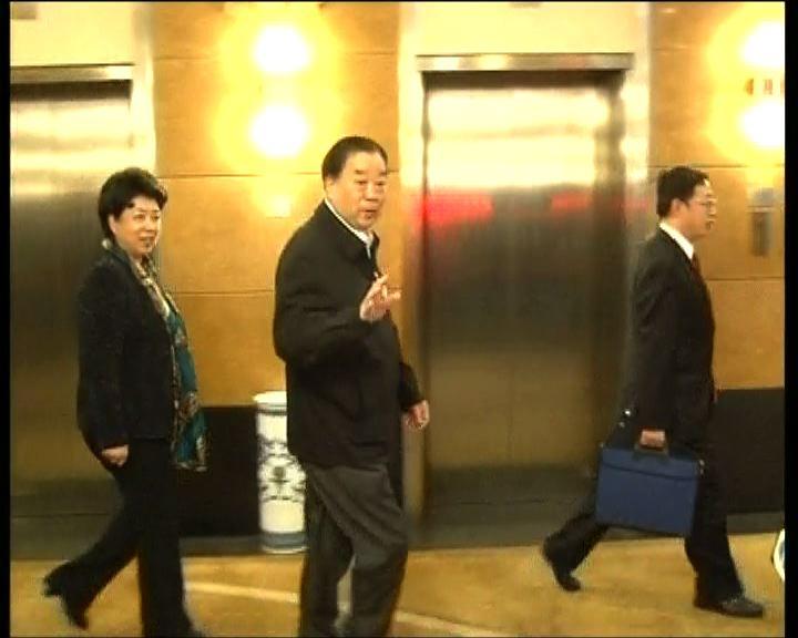 喬曉陽出席港區人大預備會議