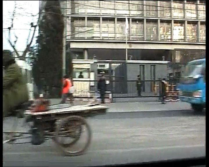 日本駐華大使館外未見反日示威