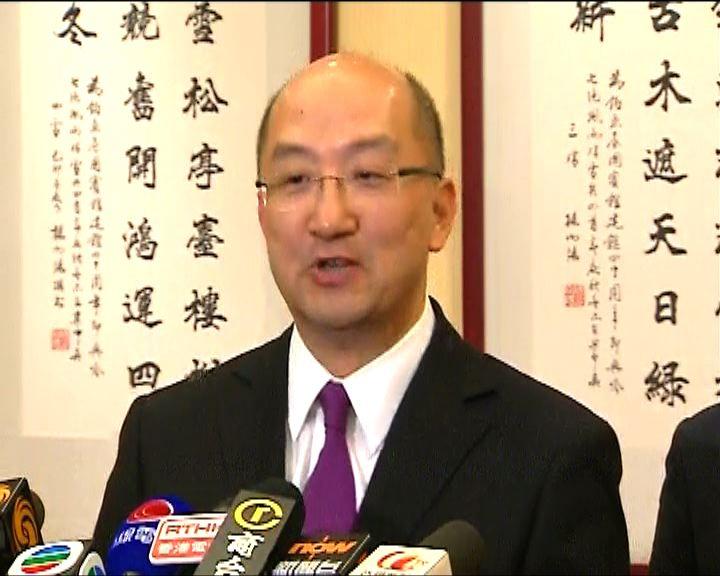 譚志源:政治助理辭職非「跳船」